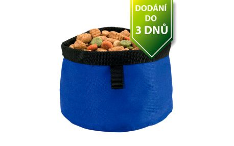 Cestovní miska pro psy - modrá a poštovné ZDARMA s dodáním do 3 dnů! - 106431
