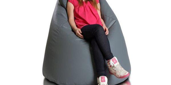 Stabilní sedací pytel Active pro pohodlí jak dětí, tak dospělých