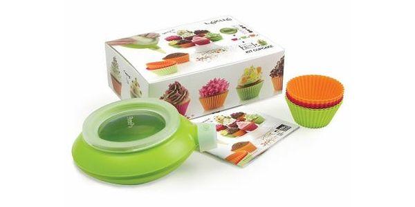 Unikátní sada na pečení a zdobení Lékué Cupcake Kids Set, Decomax + 6 forem