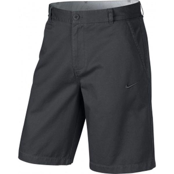 Pánské šortky na volný čas - nike washed chino short šedá