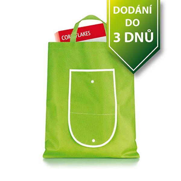 Zelená nákupní taška - skládací a poštovné ZDARMA s dodáním do 3 dnů! - 906427