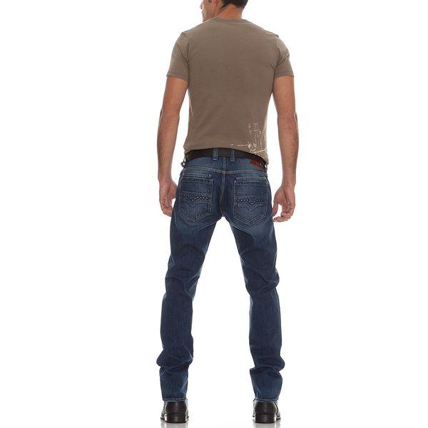 Khaki pánské triko GUESS s potiskem - skladem / vel. S