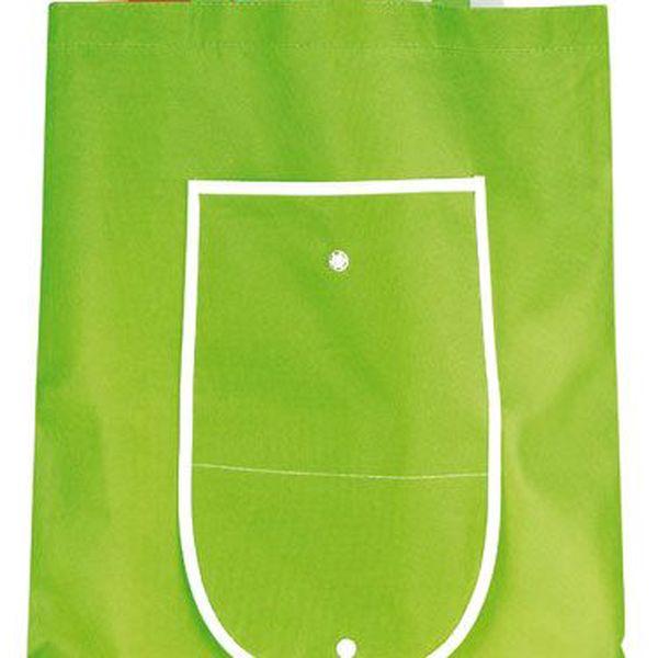 Zelená nákupní taška - skládací a poštovné ZDARMA s dodáním do 3 dnů! - 4106427