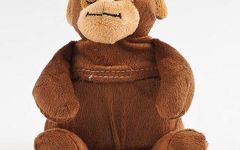 Roztomilý hřejivý plyšák, opička