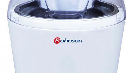 Zmrzlinovač ROHNSON R-5000 je dobré mít po ruce, když dostanete chuť na osvěžující krémovou zmrzlinu