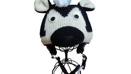 Originální potah na lyžařské helmy - Skunk