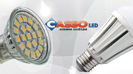 Úsporné LED žárovky - různé typy