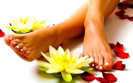Hodinová relaxační pedikúra, včetně koupele nohou,...