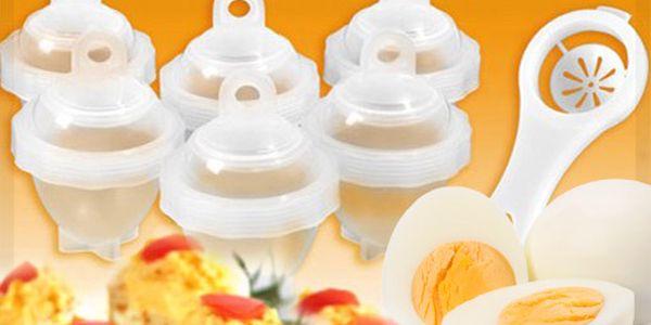 Nádobky na vaření vajíček Eggies