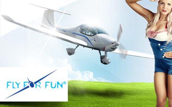 Pilotem letadla Zephyr 2000 za 999 Kč!