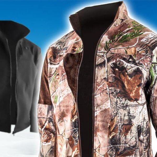 Speciální vytápěná zimní bunda, unisex