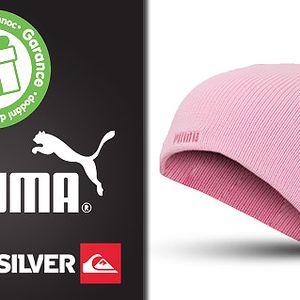 Pánské a dívčí značkové čepice Puma a Quiksilver