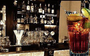 Osvěžující Cuba libre v Cafe bar Al Capone