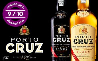 Exkluzivní portské víno Porto Cruz