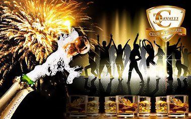 Platinum nebo Gold menu V.I.P. vstup do clubu Cavalli na oslavu Silvestra