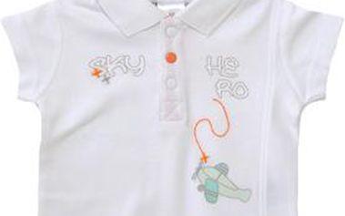 Bílé polo tričko
