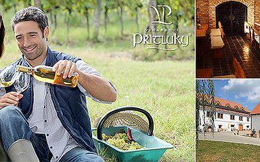 3denní relax pro dva ve vínu zaslíbeném kraji