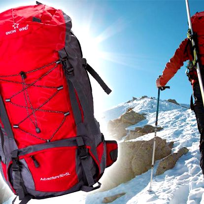 Outdoorový batoh Snow Wind 50+5l