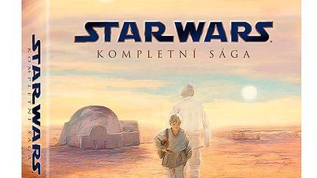 STAR WARS: Kompletní sága, 9 Blu-ray