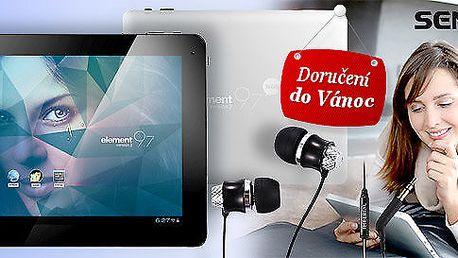Výkonný tablet Sencor s multidotykovým displejem