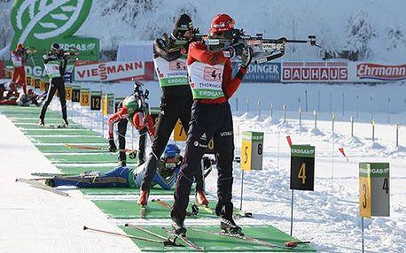 Světový pohár v Biatlonu v Oberhofu! 4denní zájezd včetně wellness ve dnech 2. - 5.1.2014!