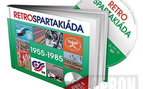 Retro Spartakiáda 50. - 80. léta, DVD + kniha