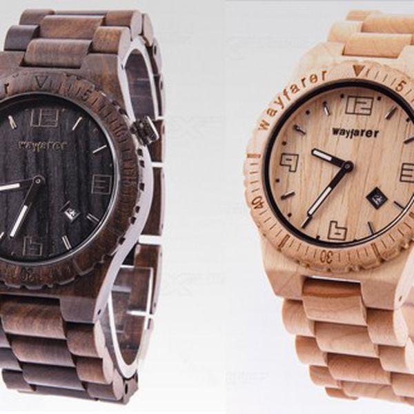 Luxusní dřevěné hodinky forest – wood watch
