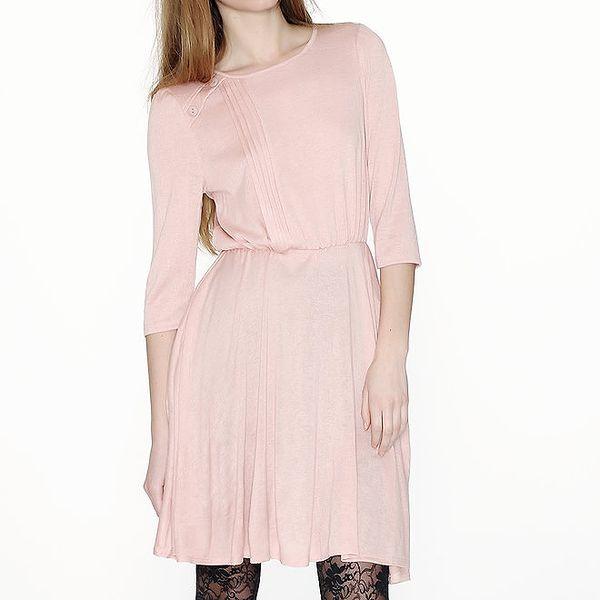 Dámské růžové šaty Pepa Loves