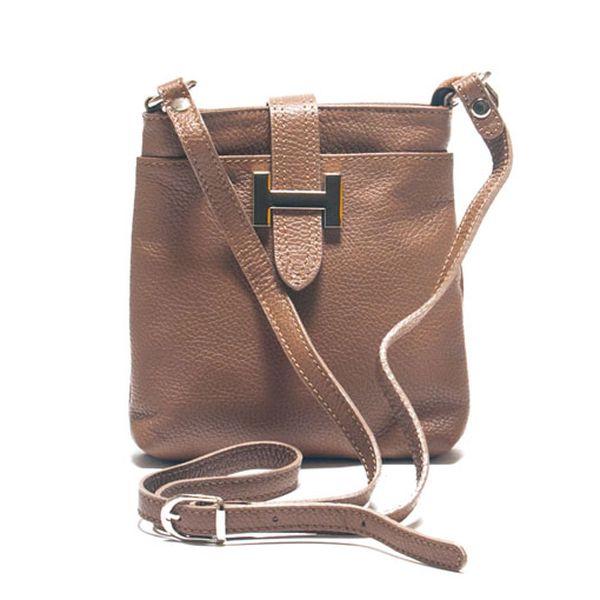 Béžová kabelka přes rameno
