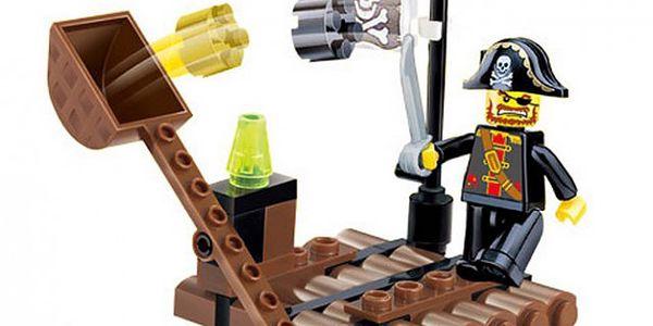 Dětská stavebnice - piráti na voru!