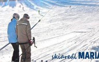 3 denní lyžařský pobyt SNOWHILL v Mariánských Lázních pro dva