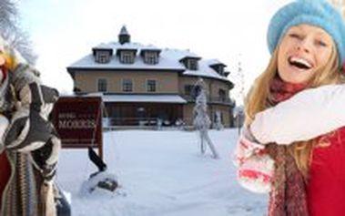 5 denní lyžařský pobyt v Mariánských Lázních pro 2 osoby s nabídkou wellness procedur