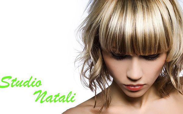 Kadeřnický balíček studia Natali zahrnující 6 procedur v 1