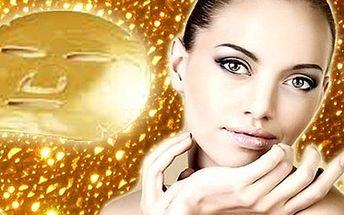 Darujte k Vánocům LUXUS! Kompletní kosmetická péče – ošetření ultrazvukovou špachtlí, zapracování kolagenového séra i aplikace oživující ZLATÉ masky za úžasných 399 Kč!