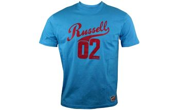 Pánské lifestyle triko - Russell Athletic RUSSELL TEE světle modrá