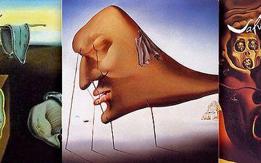 Vstupenky na výstavy Salvador Dalí a Alfons Mucha