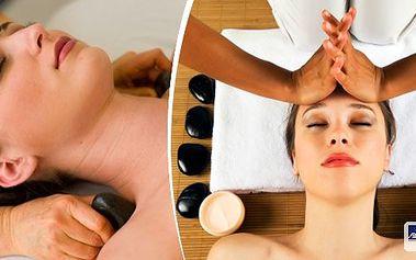 Dopřejte si úžasný relax a regeneraci pleti! 60 minutová masáž obličeje, krku a dekoltulávovými kameny!