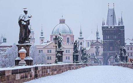 Zimní romantický pobyt v Praze pro DVA na 3 dny se slavnostní večeří