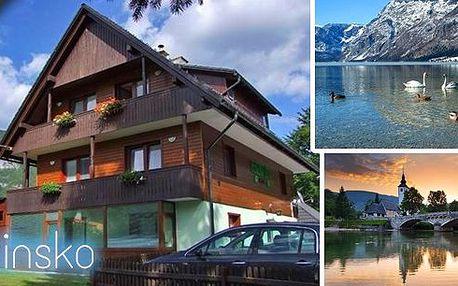 Zažijte něco nového! Pobyt pro 2 osoby na 3 dny se snídaní v krásném Penzionu Lipa*** ve Slovinsku, 500m od největšího jezera Bohinj ve Slovinsku! Výhled na něj a na horu Vogel už nikdy nezapomenete!
