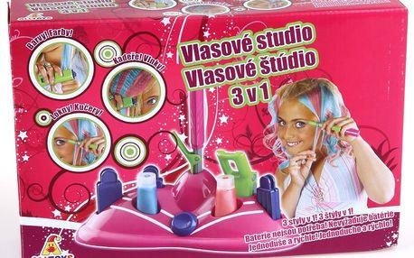 Alltoys Vlasové studio - nový účes jednoduše a rychle