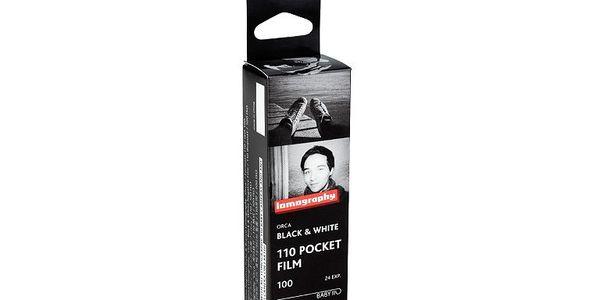 Film Lomography B&W Orca 100 ISO 110, malý velikostí, velký výkonem, hloubkou ostrosti a černobílými výsledky