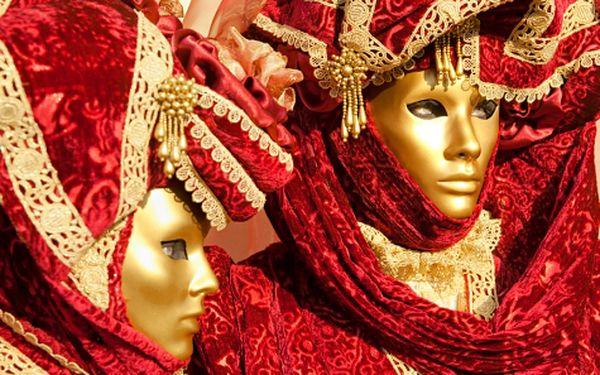 Legendární karneval v Benátkách s dopravou z Bratislavy