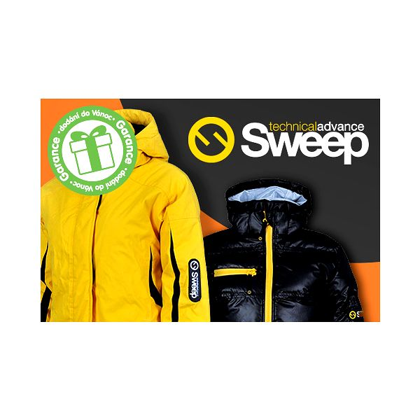 Dámské a pánské sportovní bundy Sweep