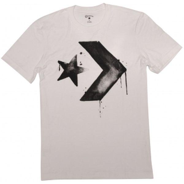 Pánské tričko - Converse Pánské tričko Converse bílá