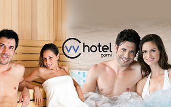 Úžasných 90 minut soukromé relaxace v hotelovém wellness! Sauna, whirlpool, láhev sektu, karafa s vodou, mísa ovoce! To vše za pouhých 749 kč pro dva! Voucher vhodný jako dárek, platí až do září 2014!