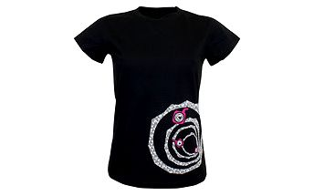 Černé dámské tričko Represent AFD Represent