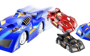 Antigravitační autíčko na dálkové ovládání. Překonává gravitaci, autíčko jezdí po stropu i po stěně principem je podtlak a můžete jezdit kdekoli!! Výborný dárek pro děti i dospělé!