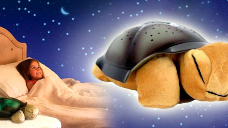 Plyšová magická svítící hračka pro děti! Kupte pro své děti vhodnou lampičku ve tvaru plyšové hračky, která osvítí Váš strop hvězdy - nejoblíbenější lampička pro děti!!