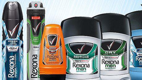 Pánské antiperspiranty a deodoranty Rexona