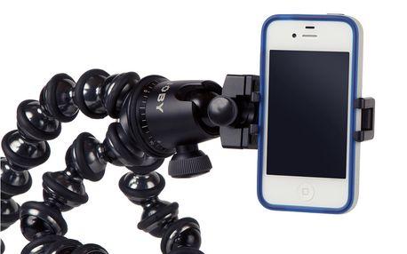 Stativ na mobilní telefon GripTight Mount, černý